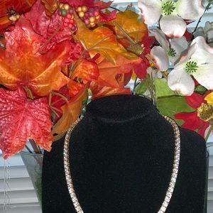Jewelry - 21k Gold Filled w/ Crystal swavorski .